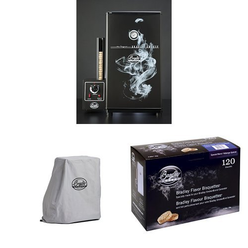 Bradley Smokers Original Smoker + Cover + Bisquettes (Bradley Smoker Bs611 compare prices)