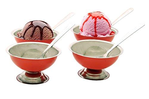 Kitchen Krafts Icecreamset 8Pcs Color