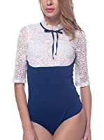 Arefeva Body (Blanco / Azul)