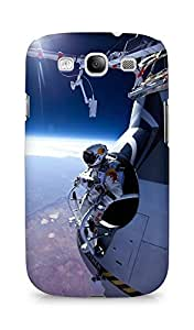 AMEZ Felix Baumgartner Space Jump Back Cover For Samsung Galaxy S3 i9300