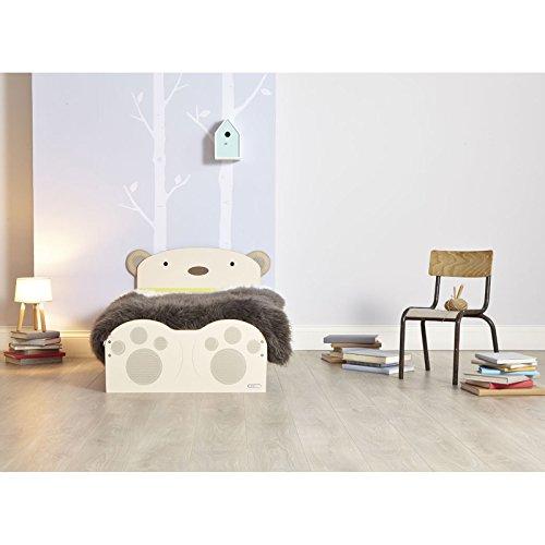 SnuggleTime Bear Hug Toddler Bed + Matelas entièrement suspendue
