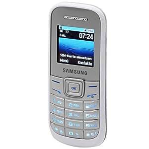 Samsung E1200 Téléphone portable Bibande/GSM Blanc