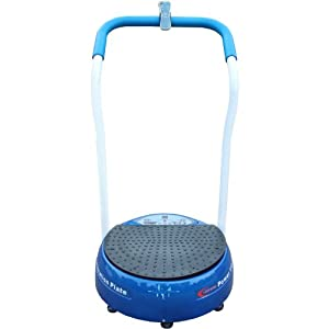 Bslimmer ® Colours PLUS Unisex Adult Vibration Plate Low Noise High Grade Motor With Life Time Warranty (Blue)