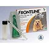 12 Month Supply Frontline Plus Kit for Dogs up to 22 Pounds USA / EPA 3 6 A