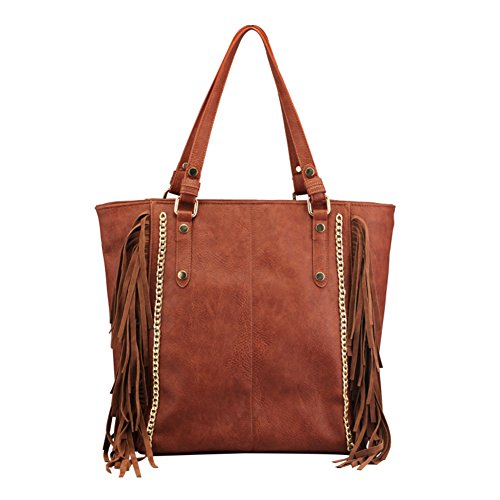 Sac frangé occasionnel de dames/Épaule Fashion Messenger Bag/grand sac Portable