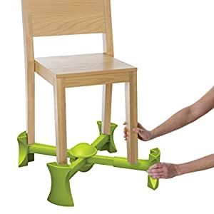 Kaboost Portable Chair Booster, Green - Goes Under the Chair