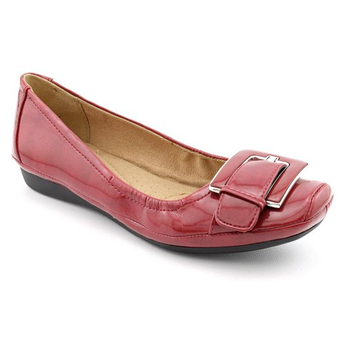 Naturalizer Valya Womens Size 10 Red Narrow Synthetic Wedges Shoes