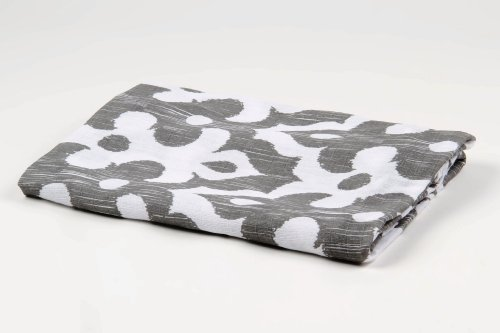 Ikat Grey 2 pc Muslin Crib Sheets