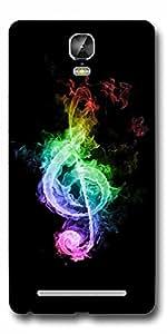 SEI HEI KI Designer Back Cover For Gionee Marathon M5 Plus - Multicolor