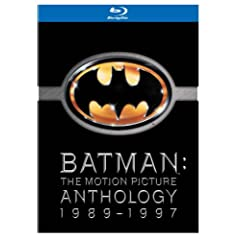 Batman - The Motion Picture Anthology 1989-1997 [Blu-ray] [UK Import]