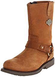 Harley-Davidson Men\'s Josh Work Boot,Tan,10 M US