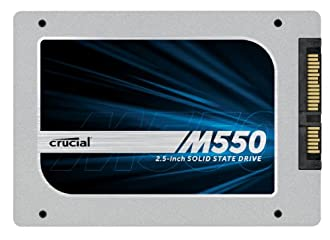 クルーシャル 内蔵型SSD Crucial M550 256GB 2.5-Inch 7mm SSD SATA (with 9.5mm adapter) Internal Solid State Drive 【並行輸入品】