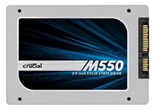 "[OLD MODEL] Crucial M550 1TB SATA 2.5"" 7mm (with 9.5mm adapter) Internal Solid State Drive CT1024M550SSD1"