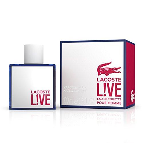 Lacoste Live Pour Homme Eau de Toilette, Uomo, 100 ml