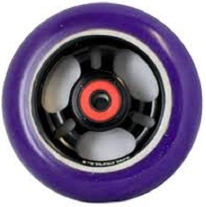 Phoenix Pro Integra 3 Spoke Metal Core Wheel 110mm PURPLE/Black (Blunt Scooter Wheels compare prices)