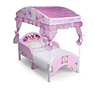 Delta Children Canopy Toddler Bed, Di…