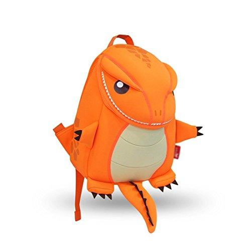 Nohoo® Kids tyannosaurus Backpack 3D Cute Zoo Cartoon School Boys Girls Bags