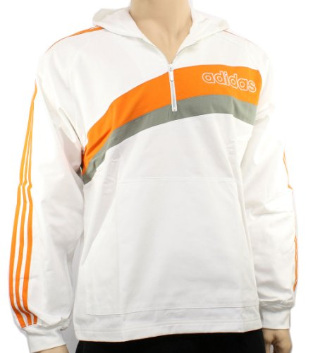 Adidas Mens Franc Half Zip Jacket Size XS