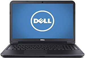 Dell Inspiron i15RV-10000BLK 15.6-Inch Laptop (1.8 GHz Intel i5 3337U Processor, 4 GB Ram, 500 GB Hard Drive, Windows 8) Black Matte with Textured Finish