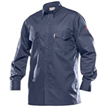 Benchmark Flame Resistant Button Front Shirt, 100% FR cotton, HRC 1