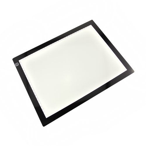 Dbpower(Us Seller) 3.6W Led Artist Stencil Board Tracing Table Light Box Pad, Lighttracer Light Box