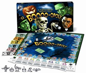 Late For The Sky Halloween Boo-Opoly Monopoly Game by Late for the Sky