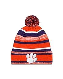 NCAA Clemson Tigers New Era College NE14 Sport Knit Beanie, One Size, Orange