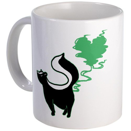 Cafepress Stinky Love Skunk Mug - Standard