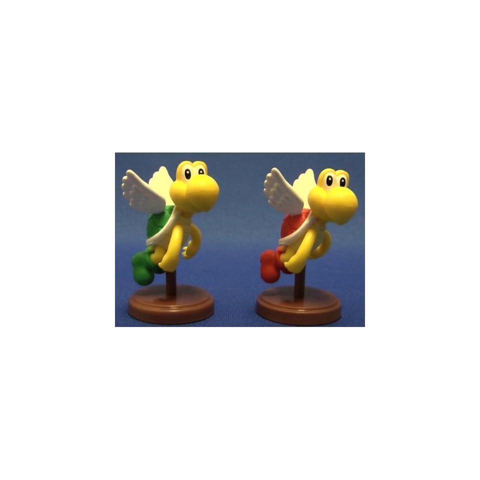 Furuta Super Mario Bros Figure Mini RED Green Paratroopa