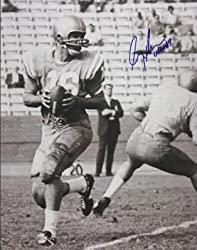 Gary Beban Autographed UCLA Bruins 8x10 Photo - 1967 Heisman Trophy Winner