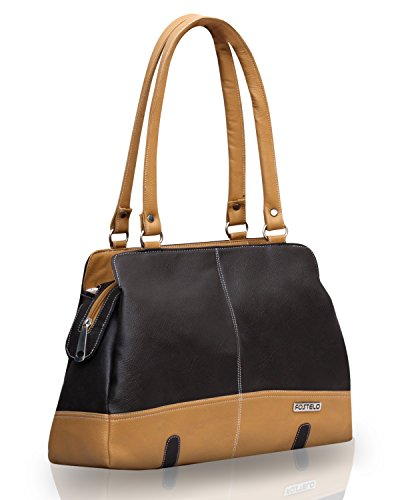 Fostelo Women's Handbag Brown (FSB-406)