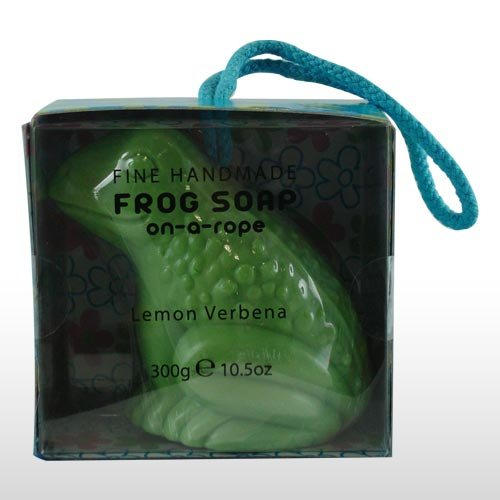 Large Frog Soap On A Rope