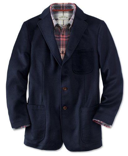 Cashmere/Lamb's-wool Cambridge Blazer / Long
