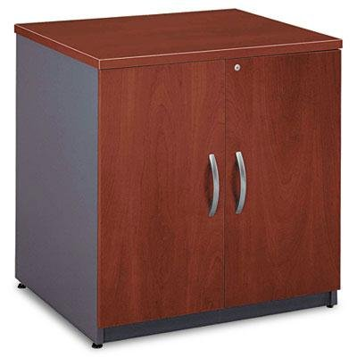 "Bush - 30""W Storage Cabinet Series C Hansen Cherry/Graphite Gray ""Product Category: Office Furniture/File & Storage Cabinets"""