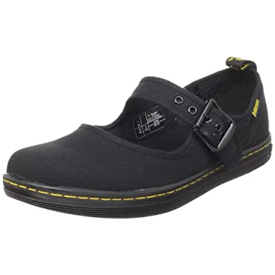 Dr martens womens carnaby mary jane flats 13526002 black 8 for Amazon dr martens