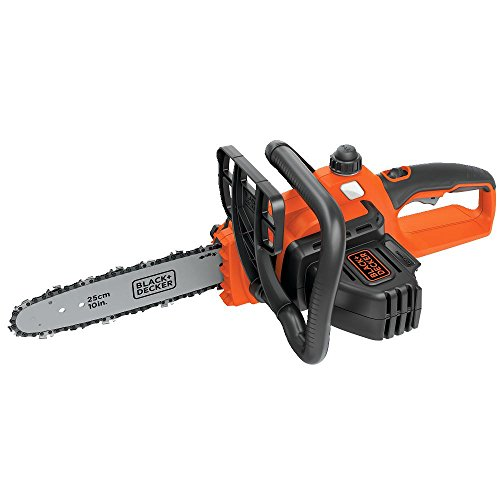 Black & Decker LCS1020B 10-Inch Lithium Ion Chainsaw, 20-volt, Baretool