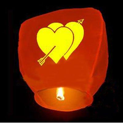 niceEshop Wishing Lanterns prints random