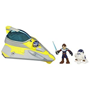 Star Wars Jedi Force Anakin Skywalker Jedi Starfighter R2D2