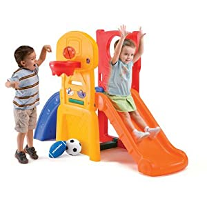 The Step2 Company LLC All-Star Sports Climber, Yellow/Red/Orange/Blue by The Step2 Company, LLC