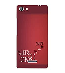 MICROMAX CANVAS 5 TEXT Back Cover by PRINTSWAG