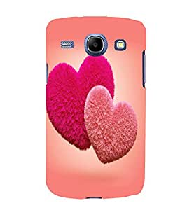 printtech Cute lovely Heart Couple Back Case Cover for Samsung Galaxy A5 / Samsung Galaxy A5 A500F