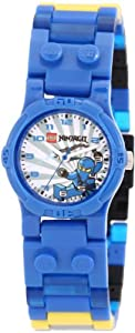 LEGO Kids' 9003103 Ninjago Blue Ninja Watch