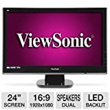Viewsonic VX2453MH-LED 24-Inch Ultra-thin Widescreen LED Monitor – Black