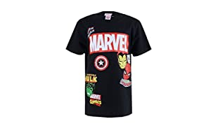 MARVEL Camiseta Manga Corta The Collector (Negro)