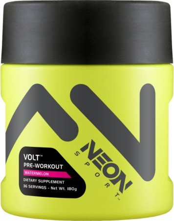 Neon Sports - Volt Pre-Workout Watermelon 36 Servings - 180 Grams