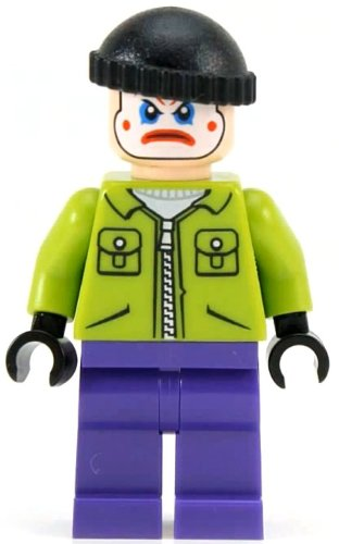 Lego Batman Joker Henchman Minifigure (2012) - 1