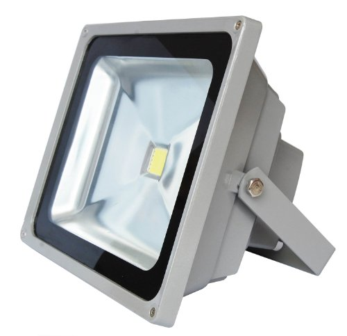 High Output 30W Outdoor Led Flood Light - 7000K Pure White - 120 Degree Beam Angle - Epistar Cob Led - Waterproof Ip65