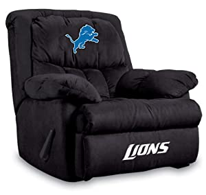 NFL Detroit Lions Home Team Microfiber Recliner by Imperial