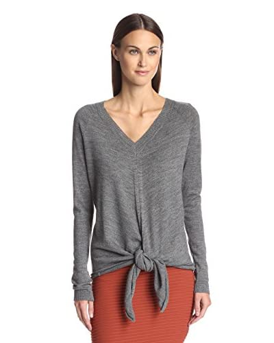 Susana Monaco Women's Pullover with Knotted Hem
