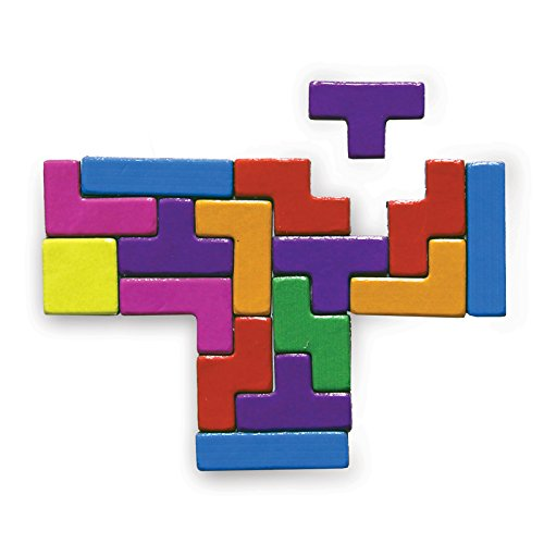 Tetris Fridge Magnets. Officially licensed product.